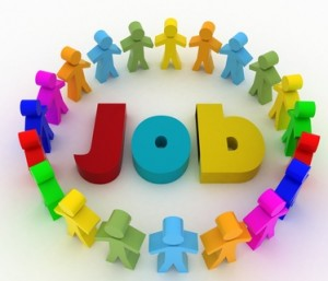People looking for job . Career opportunity concept.